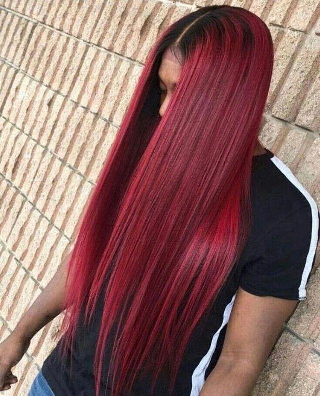 Balayage Dark Roots Fade Into Dark Purple And Then Fade Into Red Brown Hair Fade Dark Ombre Hair Balayage Hair Dark