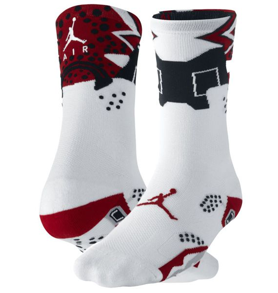 Nike Air Jordan 6 Sneaker+ Socks   Nike