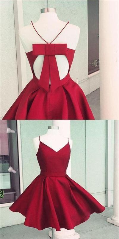 2017 Homecoming Dress Spaghetti Straps Royal Blue Short Prom Dress Party Dress JK239