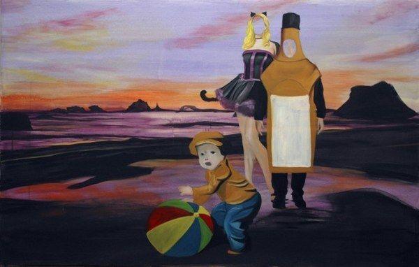 Картины современного немецкого художника (17 работ)