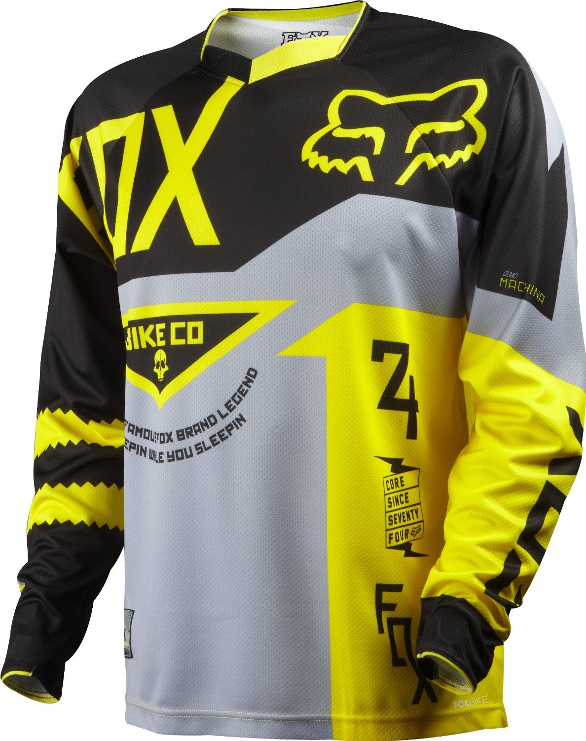 Fox Head Men s Demo Long Sleeve Jersey  http   downhill.cybermarket24. 1d332b15e