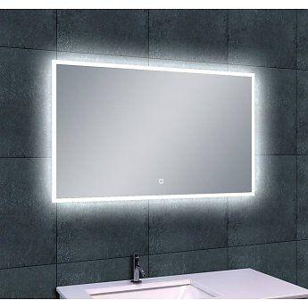 Wiesbaden Quatro Led-Spiegel. Met een touch-knop op de spiegel kan ...
