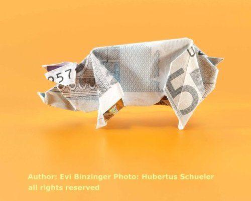 origami 5 euro schein
