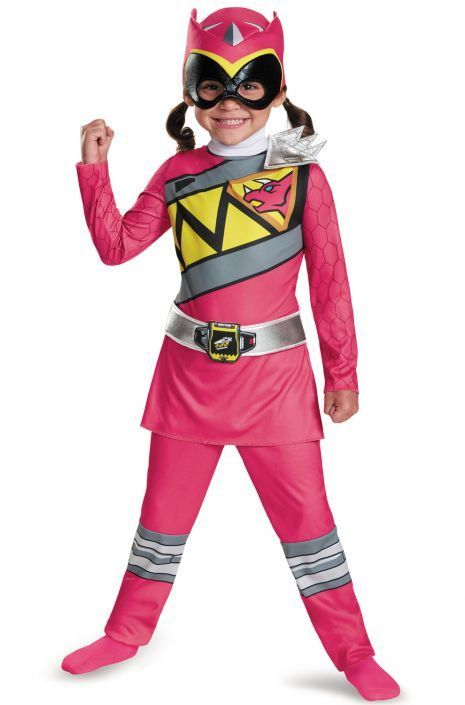 Power Rangers - Pink Ranger Dino Charge Classic Toddler Costume  sc 1 st  Pinterest : pink power ranger child costume  - Germanpascual.Com