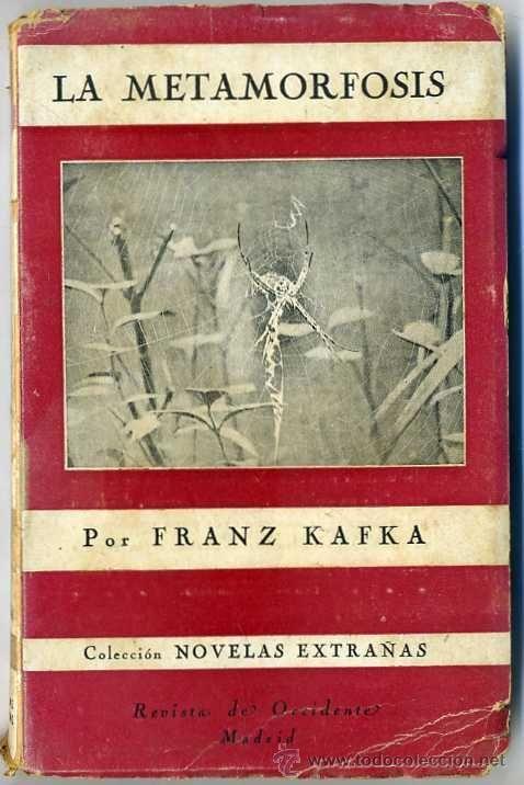 Franz Kafka La Metamorfosis Revista De Occidente 1945 Primera Edicion Metamorfosis Revistas La Metamorfosis Kafka