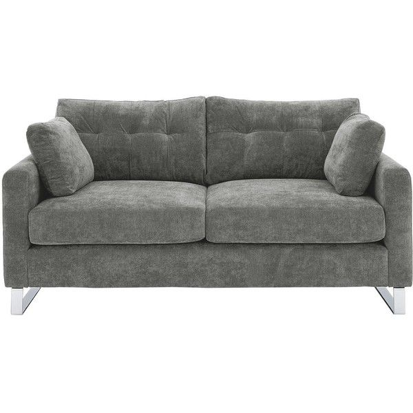 Sphinx 2 Seater Fabric Sofa 489 Liked On Polyvore Featuring