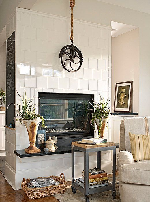 14 chic decorating ideas for above the fireplace inspire feeling rh pinterest com