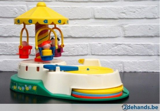 Vintage Fisher Price Change-A-Tune Carousel