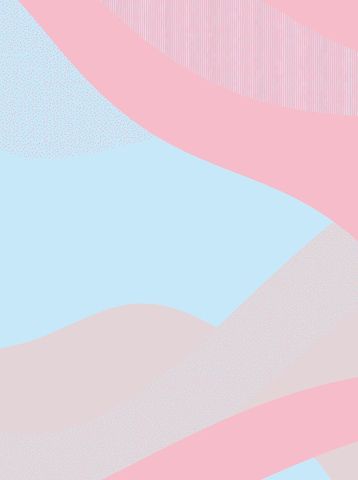 Semiternal soft pink and light blue Art Print by ElisaGabi | Society6 from society6.com