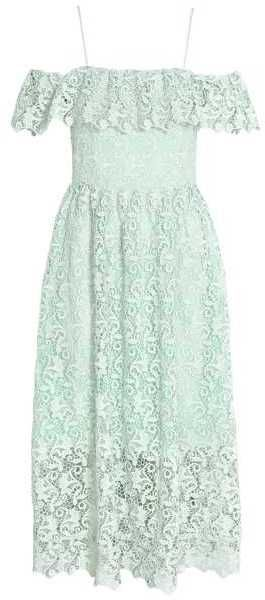 24b0dee504c1 H&M Off-the-shoulder Lace Dress   #Chic Only #Glamour Always   Chic ...