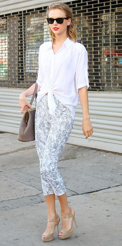 Look of the Day - July 1, 2014 - Taylor Swift from #InStyle