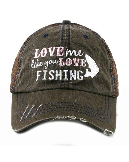 Download womens fishing hats   Katydid Women's Love Me Like You ...