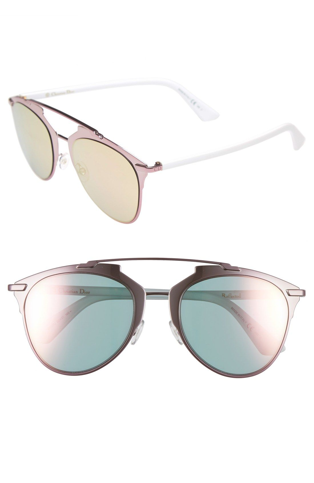 3186443a1c0d Dior  Reflected  52mm Sunglasses
