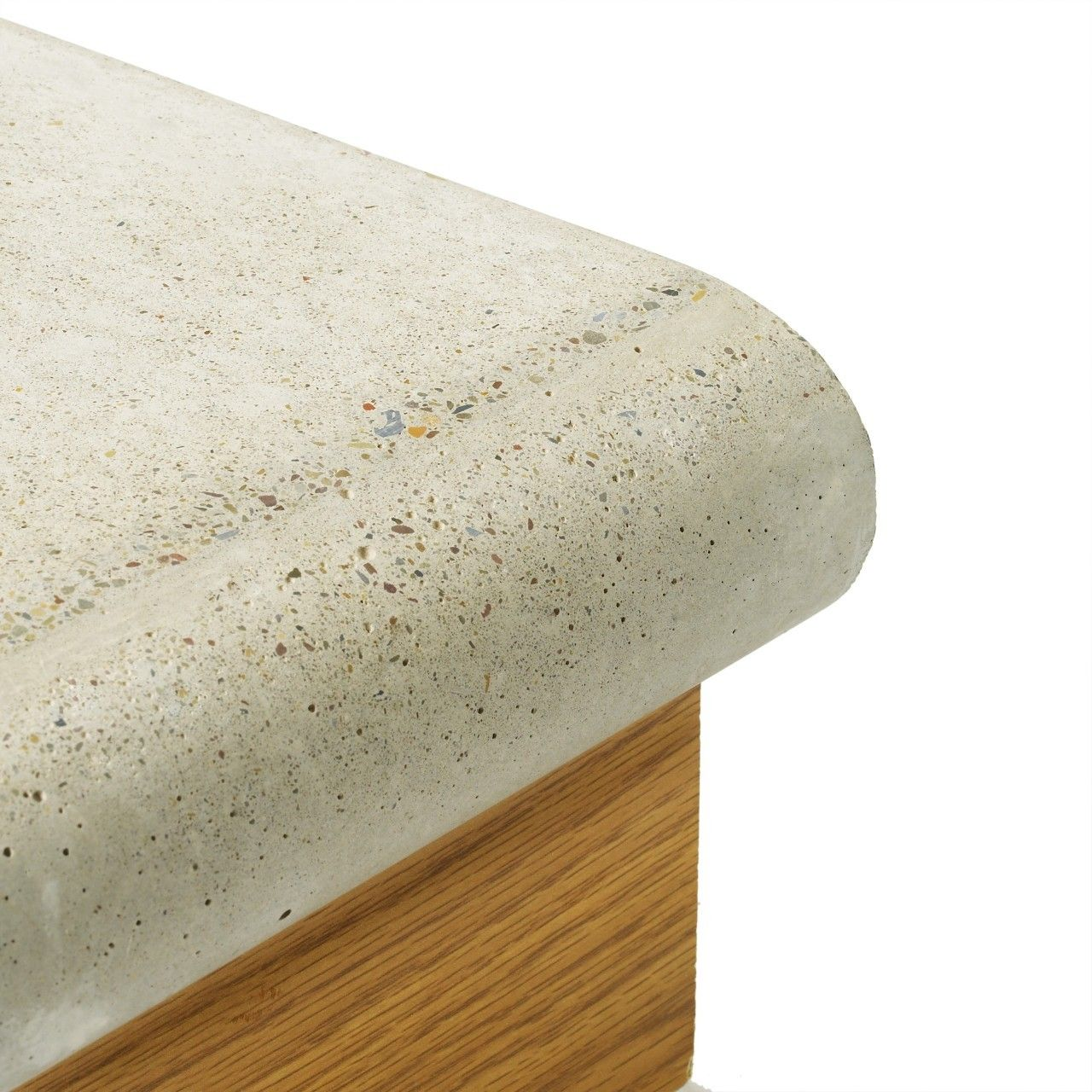 Full Bullnose Edge Profile Concrete Countertop Forms Concrete