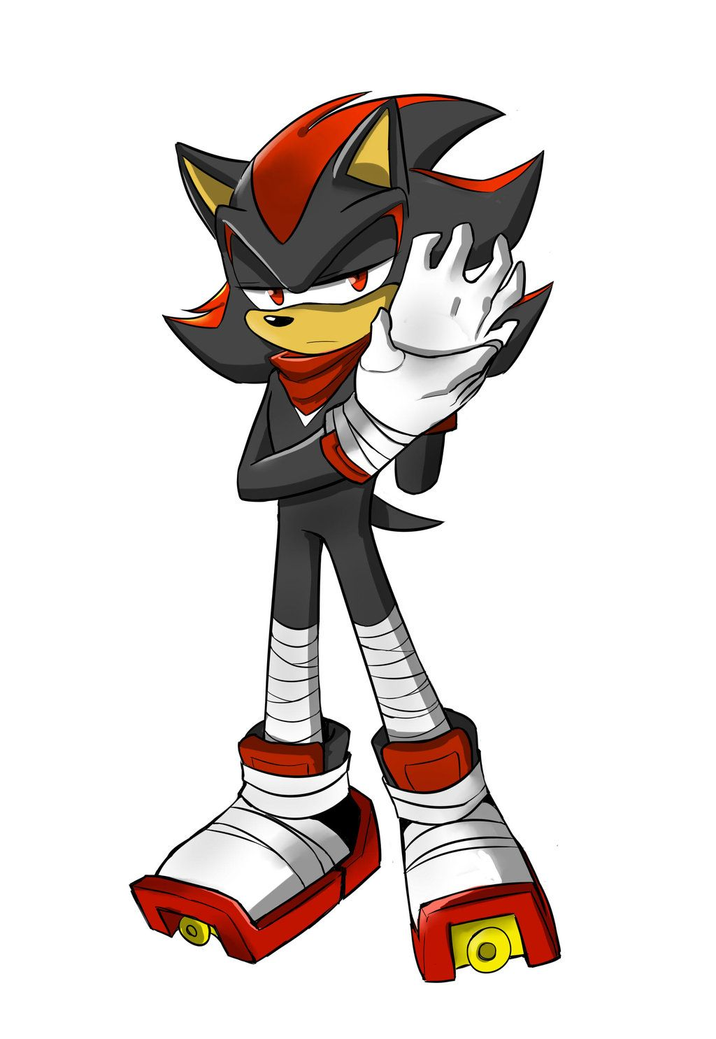 Sonic Boom Shadow By Rednblackdevil On Deviantart Sonic Boom Sonic Shadow The Hedgehog