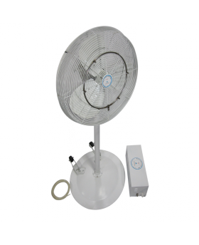 24'' Oscillating Pedestal Misting Fan • High Velocity • with