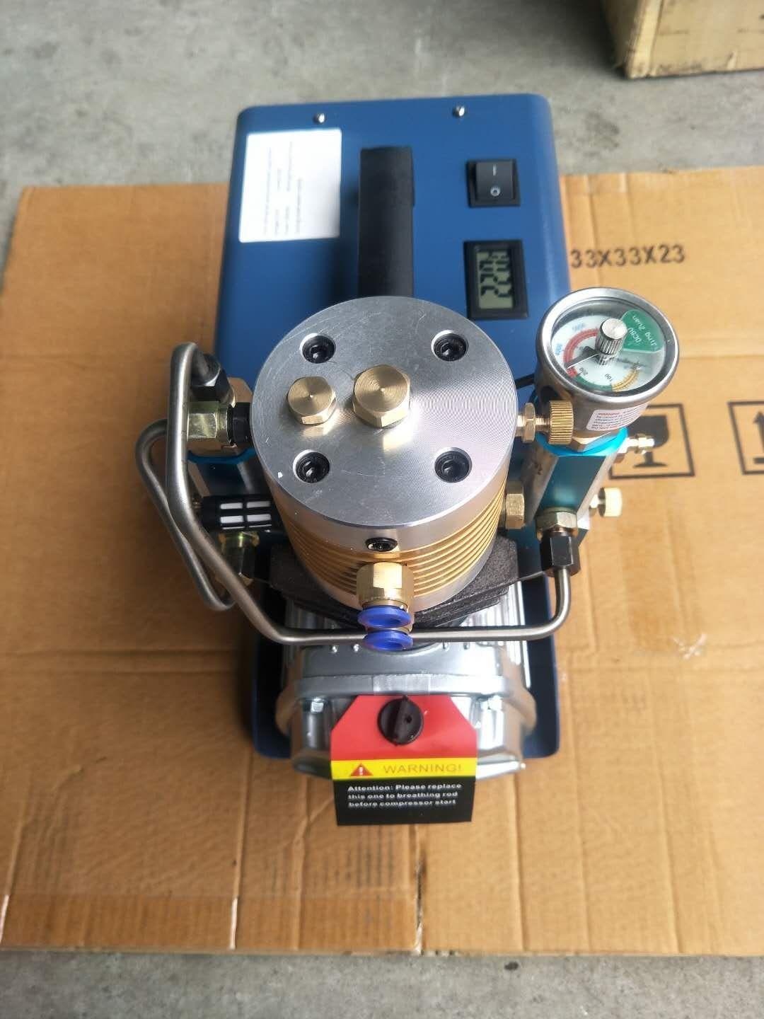 Pin on air compressor