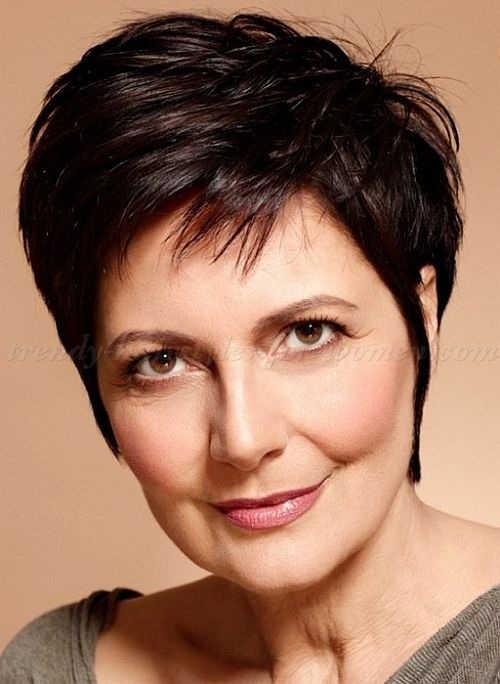 Pleasant Short Hairstyles Over 50 Hairstyles Over 60 Short Spiky Hairstyles For Women Draintrainus