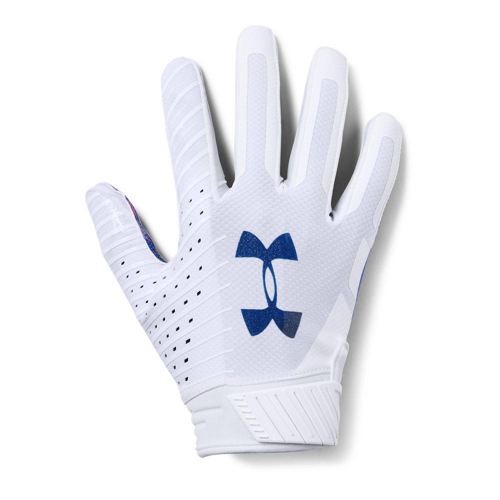 Mens ua spotlight le nfl football gloves under armour