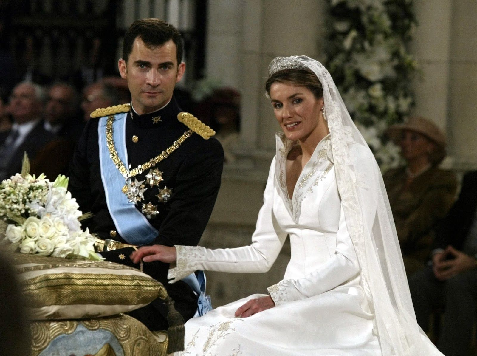 royal Wedding spain  King Felipe VI and Queen Letizia of Spain on