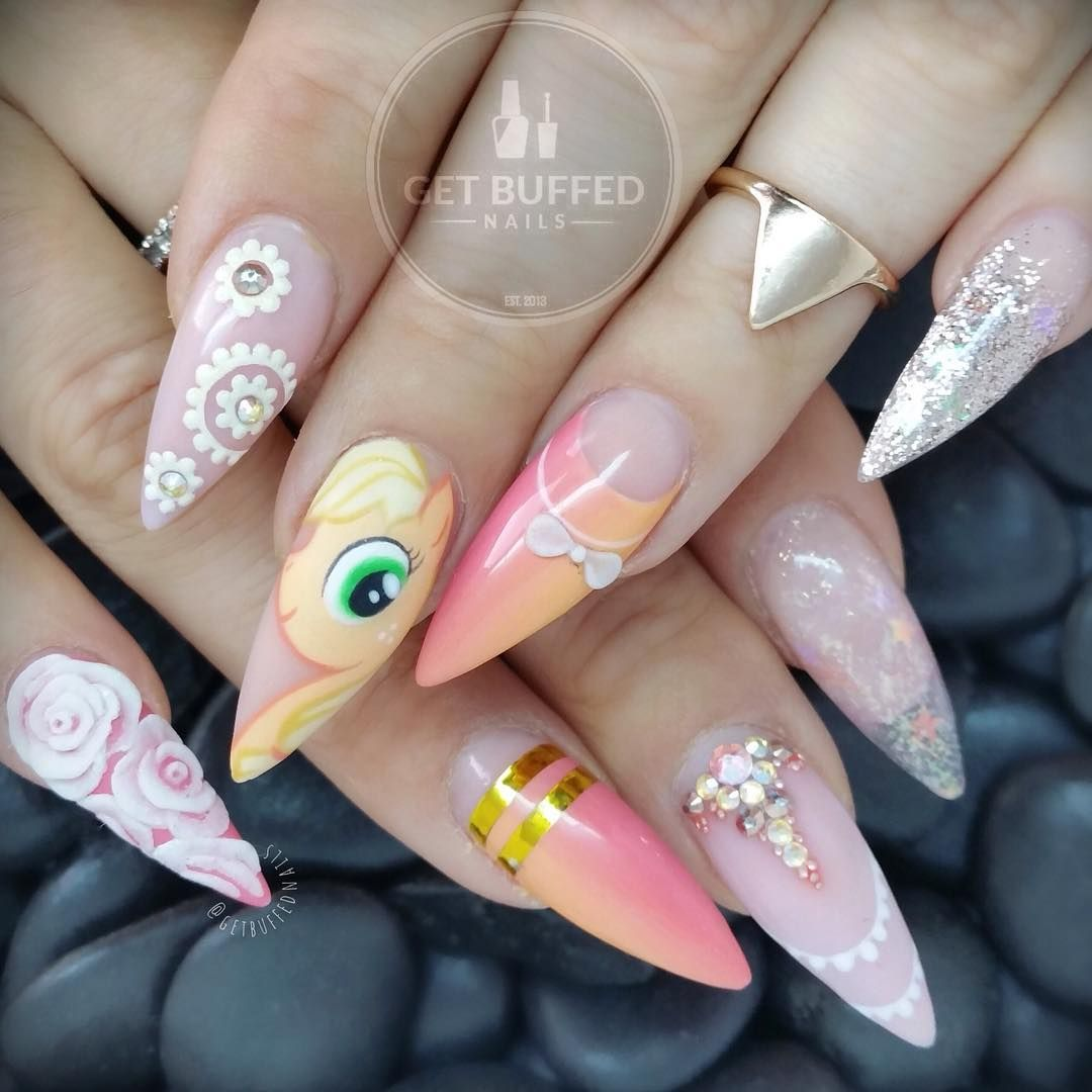 Acrylic Nails Disney: See This Instagram Photo By @getbuffednails • 3,297 Likes