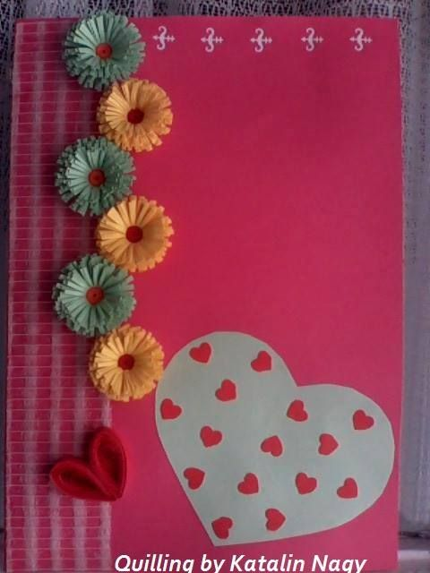 Quilling By Katalin Nagy My Valentine Cards Pinterest Quilling