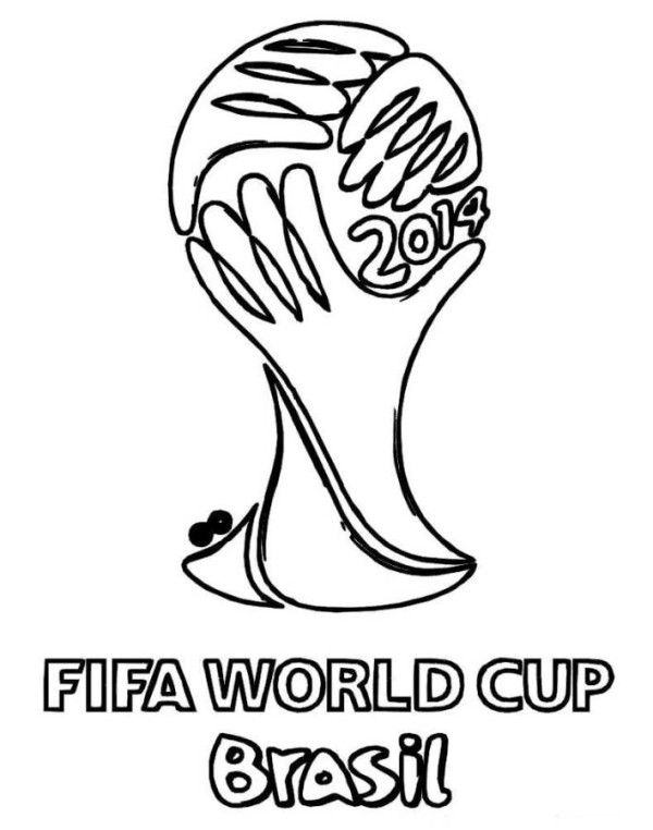 FIFA World Cup Brasil Coloring Pages for kids | Recipes to Cook ...