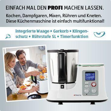 Küchenmaschine mit Kochfunktion Ambiano Pinterest - kochen mit küchenmaschine