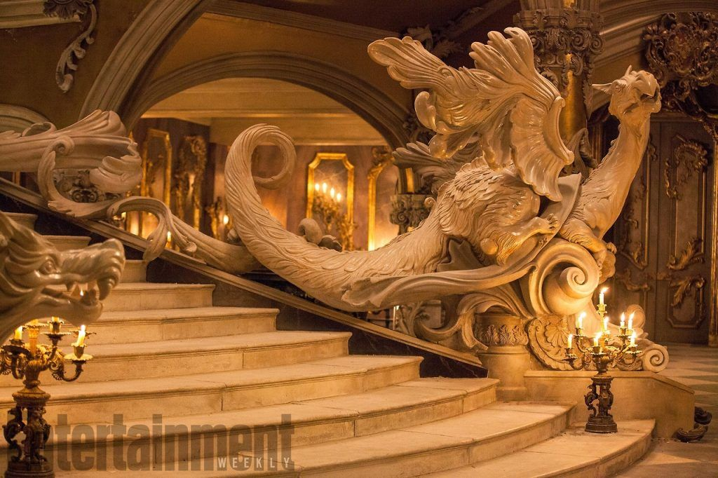 Behind The Scenes Photos Of The Ballroom From Beauty And The Beast