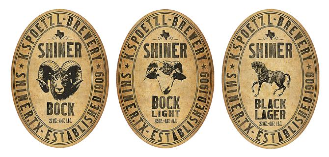 Way cool retro Shiner Bock labels design Pinterest – Beer Label