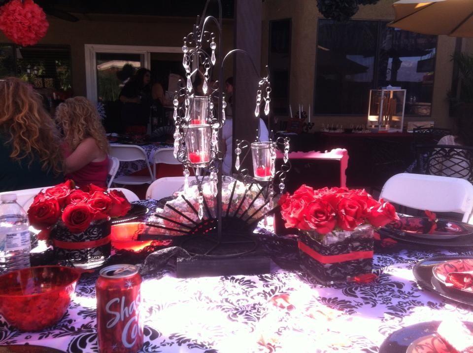 spanish theme wedding shower