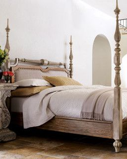 """Lolena"" Bedroom Furniture  - traditional - beds - by Horchow"