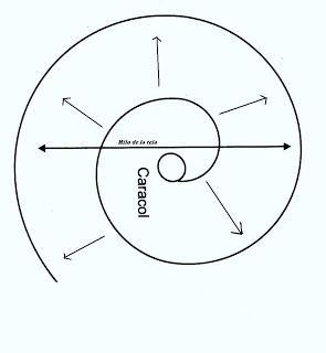 El costurero de Stella  Arandelas en espiral o caracol. 91b90fc5da717