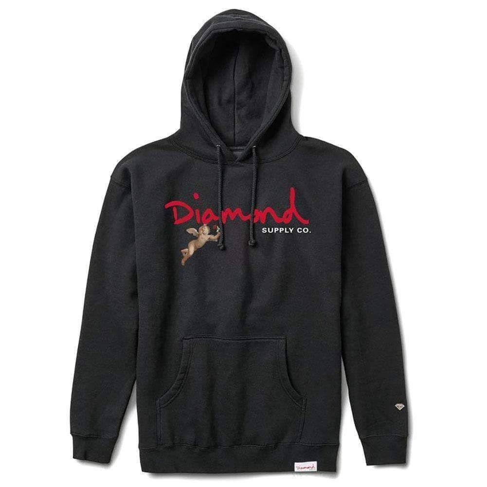 Diamond Supply Co. Trinity Hoodie Black Black | Diamond