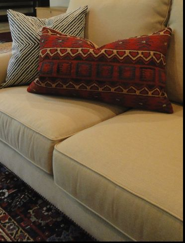 Sectional By The Comfortable Couch Company. Fabric By Sunbrella. You Can  Take It Outside