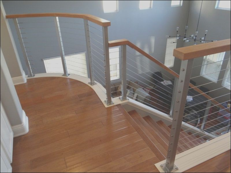 9 Unusual Cable Railing for Interior Stairs Photos in 2020