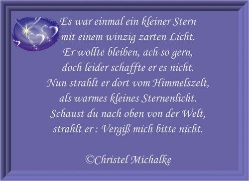 Gedichte Aus Dem Herzen Es War Einmal Ein Kleiner Stern Sterne Kleiner Stern Gedichte Und Spruche