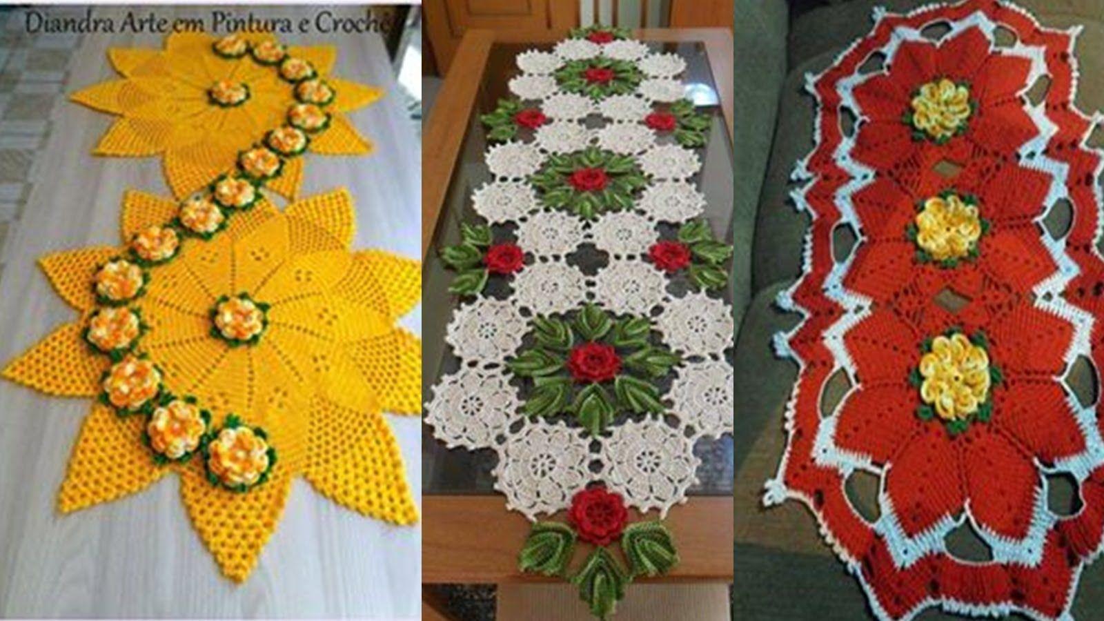 Como hacer centros de mesas hermosos dise os tejidos a for Mesas de centro de diseno