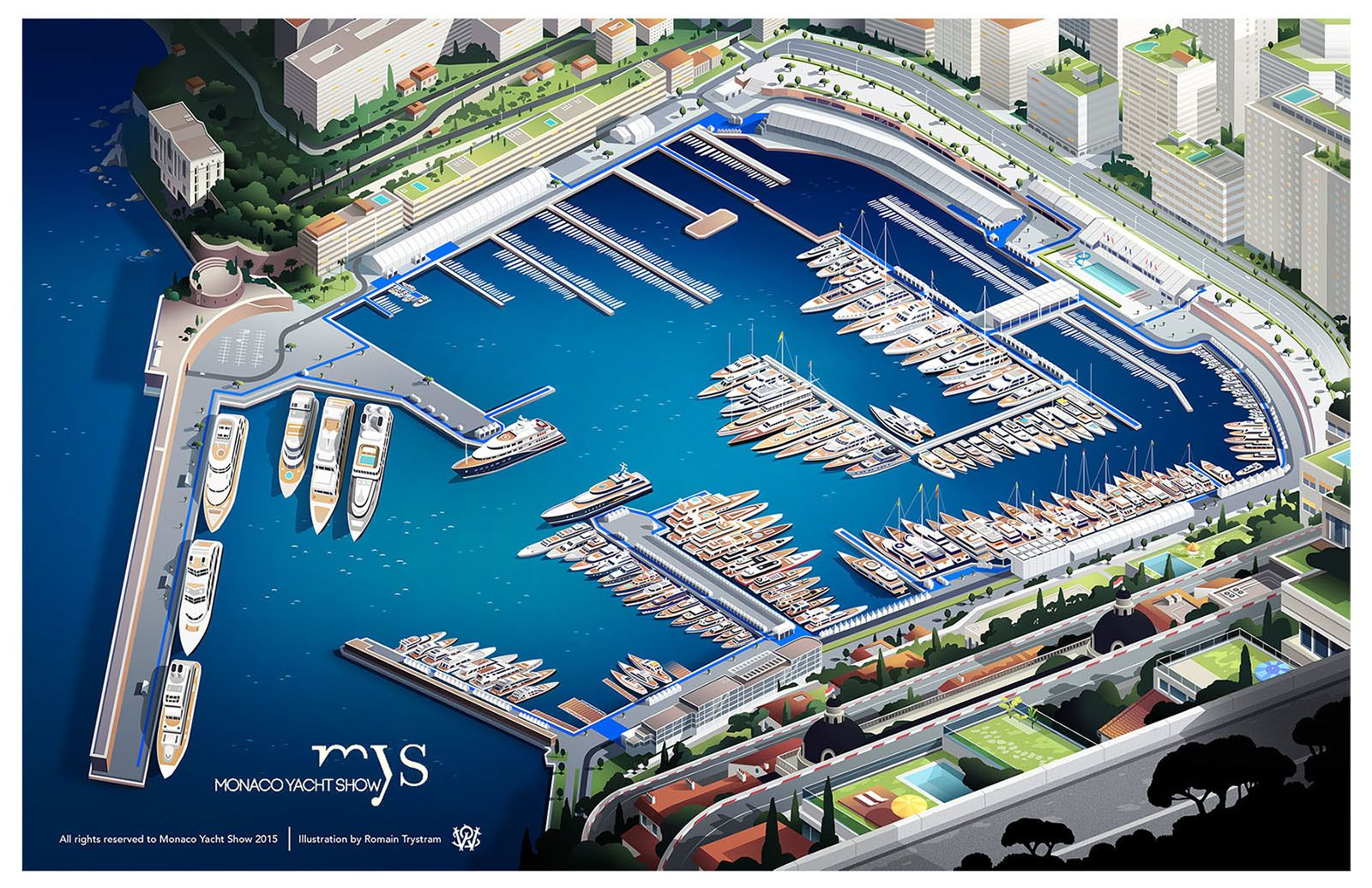 Monaco Yacht Show 2015 on Behance