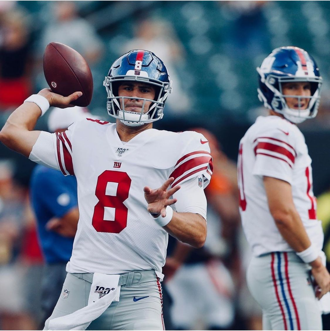 Daniel Jones Is Now Qb1 Benching Eli Manning Of The New York