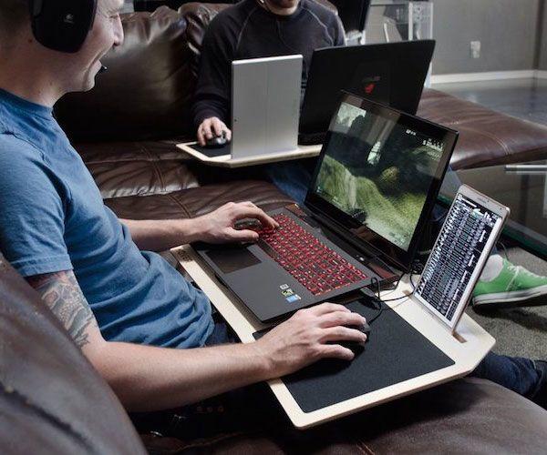 Ultimate Gamer S Lap Desk Lap Desk Gaming Station Remote Work