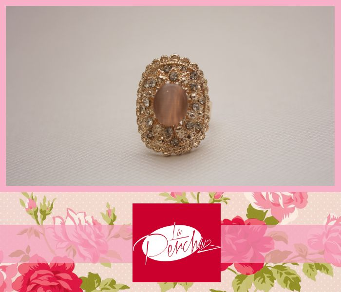La Percha Bisutería Jewelry Anillo Ring Perlas Accesorios para mujer Moda Fashion