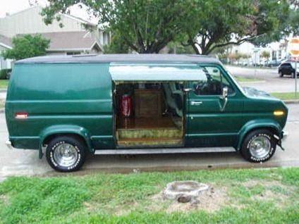 1975 Ford Van Ford Van Custom Vans Cool Vans