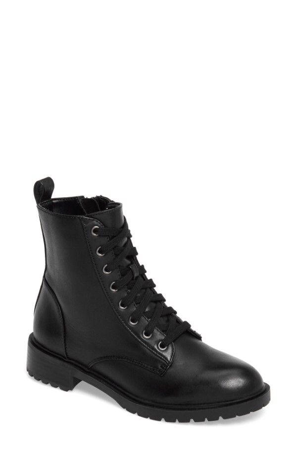 57d57121ca2 Steve Madden Steve Madden Officer Combat Boot (Women) available at   Nordstrom
