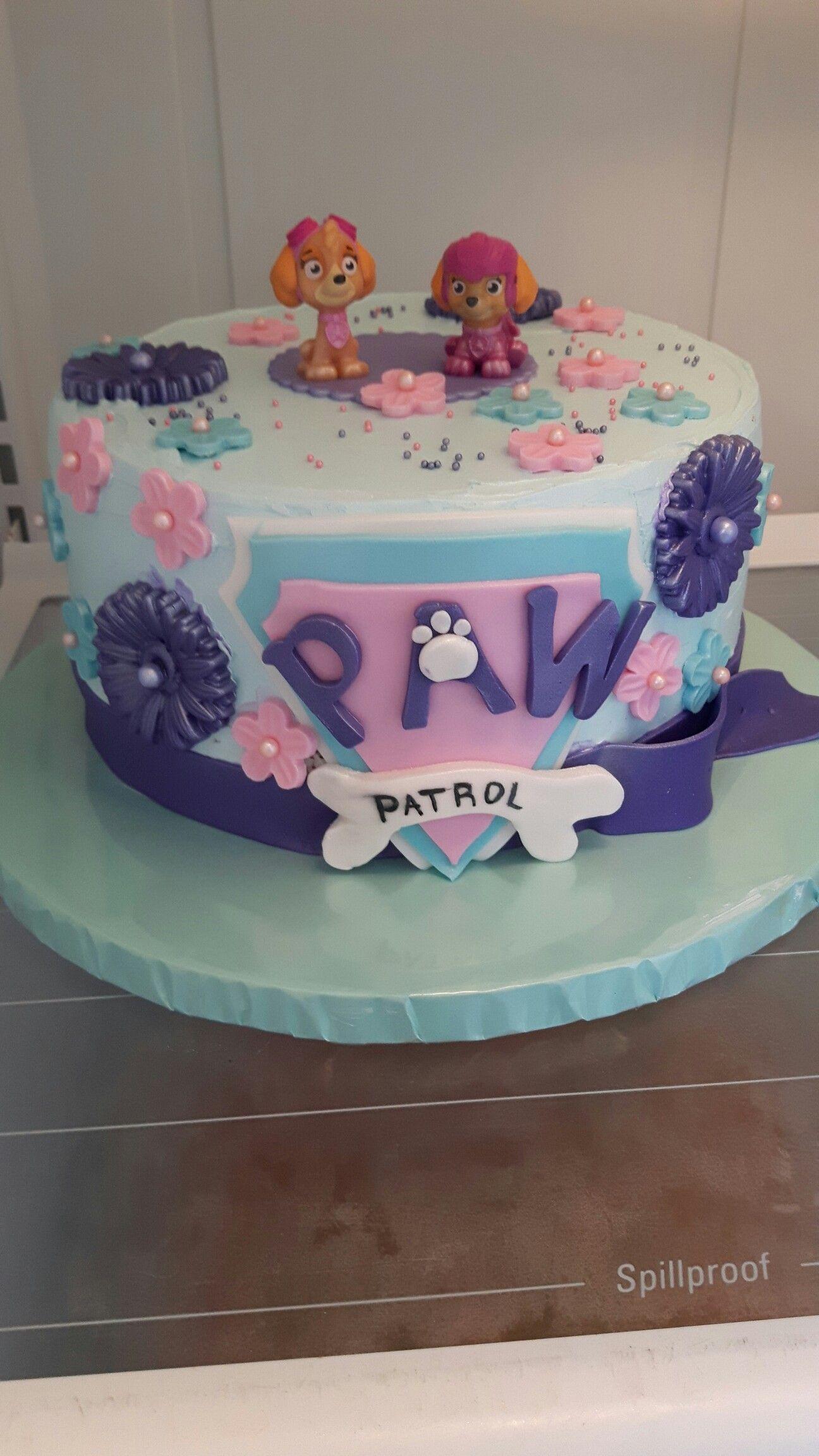 Girls Paw Patrol Cake Paw Patrol Birthday Cake Paw Patrol