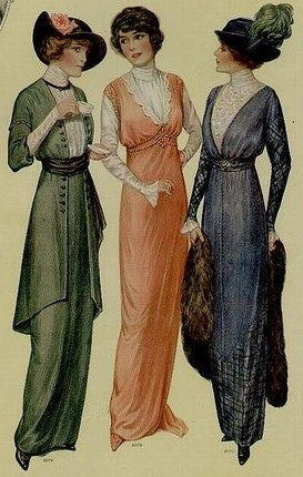 876b0cd1789 Simple dress styles from 1914