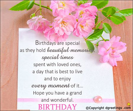 Get Happy Birthday Wishes Ideas Happy Birthday Dgreetings With