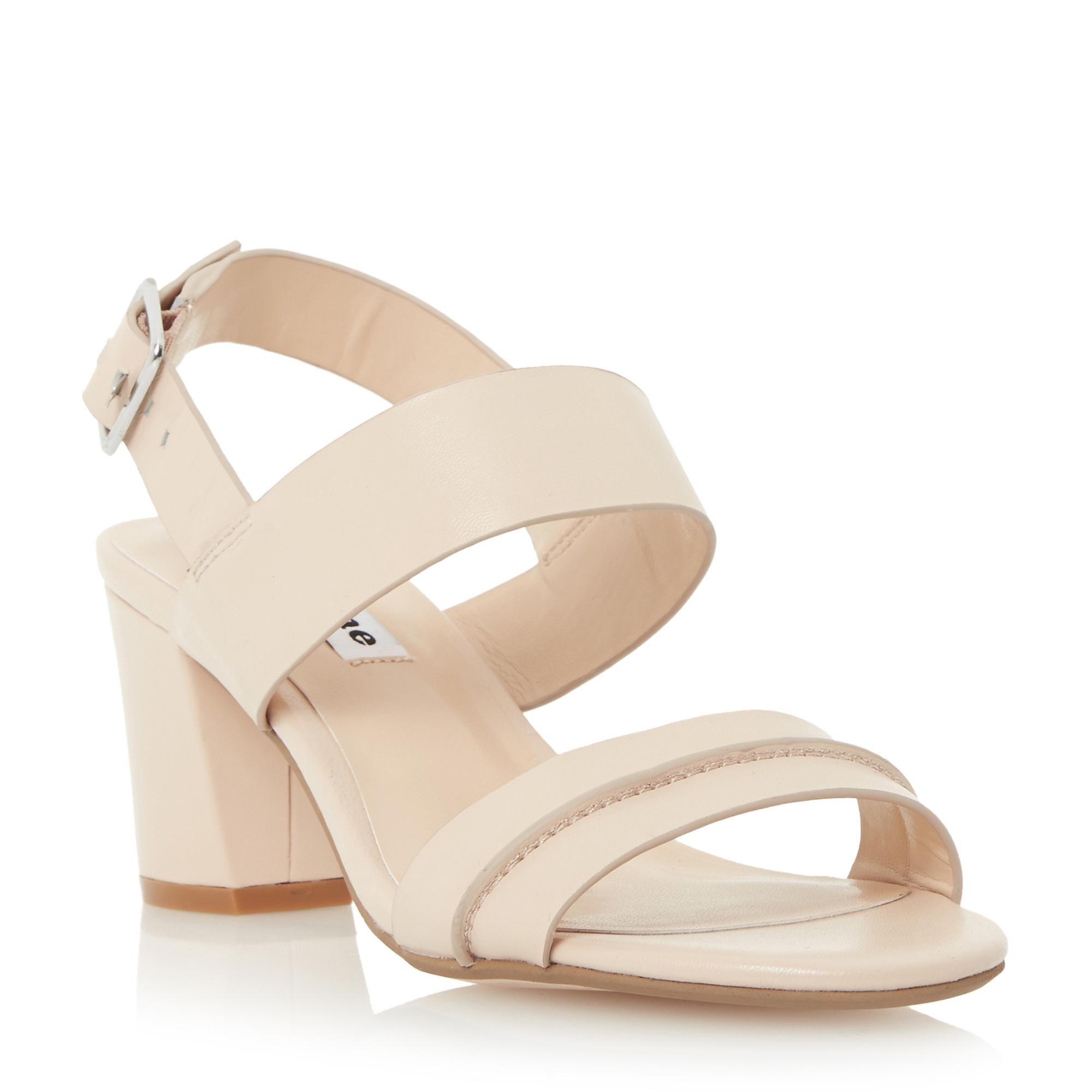 7d560901b7f DUNE LADIES JORO - Two Part Block Heel Sandal - nude
