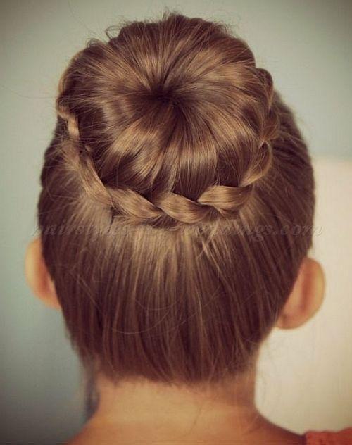 Strange 1000 Images About Flower Girl Hairstyles On Pinterest Flower Short Hairstyles For Black Women Fulllsitofus