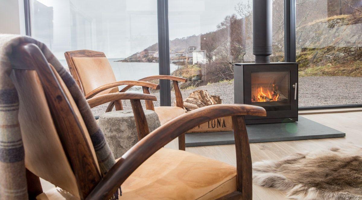 The Net Store Charming Highland retreat Modern wood